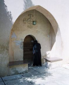 Entry Door, Coptic Monastery, Western Desert, Egypt