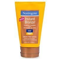 Neutrogena Instant Bronze Sunless Tanner and Bronzer-In-One, Deep, 4 Fluid Ounce - Makeup Beauty Skin, Health And Beauty, Neutrogena, Bronzer, Lotion, Personal Care, Skin Care, Deep
