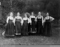 Folk Costume, Costumes, Bridesmaid Dresses, Wedding Dresses, Norway, The Past, Culture, Traditional, Photography