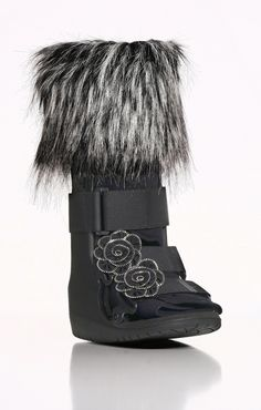 Classic Black Fashion for Orthotic Casts~  this is cracking me up!!  A whole line of ways to dress up my new medical boot!!!
