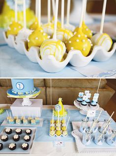 little prince birthday party yellow cake pops and dessert table Prince Birthday Party, Baby Birthday, First Birthday Parties, First Birthdays, Birthday Ideas, Yellow Cake Pops, Yellow Birthday Cakes, Little Prince Party, Prince Cake