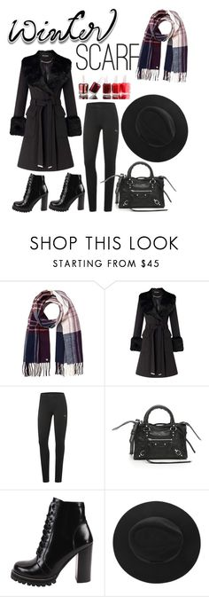 """""""Untitled #81"""" by salsabilla-fortuna ❤ liked on Polyvore featuring Lipsy, Miss Selfridge, Puma, Balenciaga, Jeffrey Campbell and Essie"""