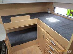 caravan triple bunk - Google Search