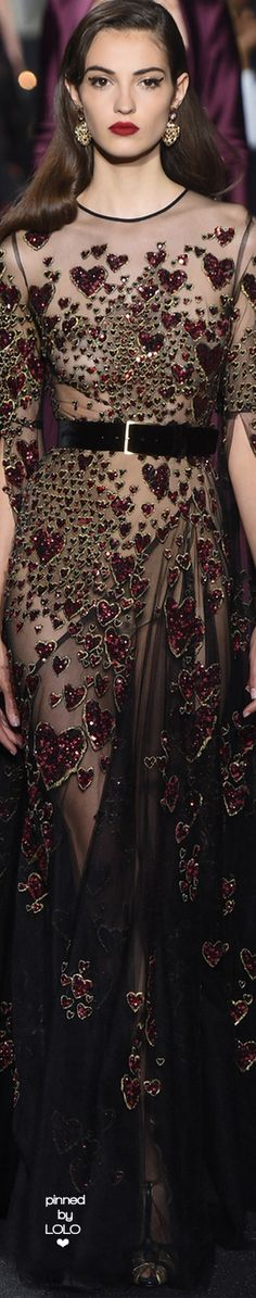Elie Saab Fall 2016 Couture Fashion Show Beautiful Gowns, Beautiful Outfits, Couture Fashion, Runway Fashion, Fashion Week, Fashion Show, Party Fashion, Dress Fashion, Style Work
