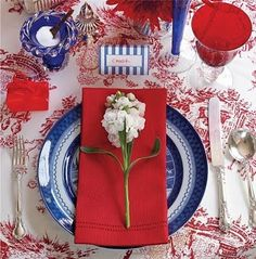 The French Tangerine: ~ festive july tables