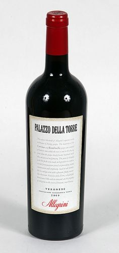Palazzo Della Torre - Amarone style Italian wine with partially dried Corvina and Rodinella Grapes, very sweet Italian Red with complex textures and flavours.