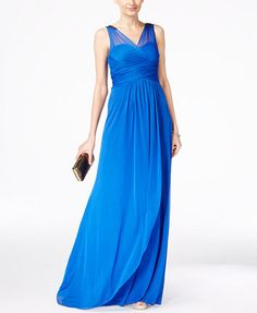 Macy's - Adrianna Papel - $135 http://m.macys.com/shop/product/adrianna-papell-ruched-embellished-gown?ID=2831281&CategoryID=68232
