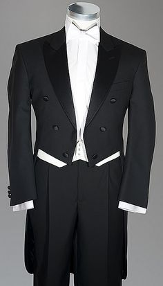 Dress code white tie preferred stock