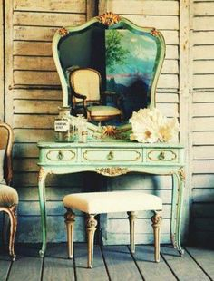 Sublime Useful Ideas: Vintage Home Decor Antiques Thoughts vintage home decor inspiration mirror.Vintage Home Decor Turquoise Shabby Chic vintage home decor inspiration guest rooms.Vintage Home Decor Inspiration Guest Rooms. Shabby Chic Bedrooms, Bedroom Vintage, Vintage Shabby Chic, Shabby Chic Furniture, Vintage Home Decor, Vintage Furniture, Rustic Furniture, French Vintage, Vintage Dress