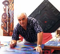 Contemporary Maori Art - Sandy Adsett (Ngāti Kahungunu) became best known for large, highly graphic works inspired in part by the patterns carved into the rafters of meeting houses. Explorers Unit, Maori Art, Year 9, Arts Ed, Tribal Art, Creative Art, Theatre, Street Art, Creativity