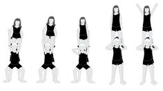 Step-By-Step Guide To Performing A Shoulder Stand Cheerleading ...