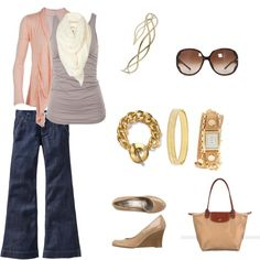 """Cute Weekend Outfit  """"Sunday Church"""" by amf629 on Polyvore"""