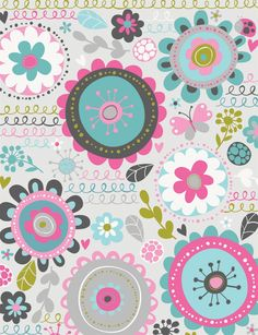 Love the design of all these printable papers Hiccup Studio Designs. Pattern