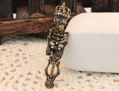 $7.99  Fashion Style Rhinestone Skull Ring