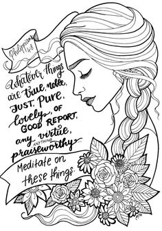 """Free Coloring Page! Beautifully Illustrated Bible Verse """"i on NEO Coloring Pages 8222 Scripture Art, Bible Art, Bible Scriptures, Scripture Lettering, Bible Verse Coloring Page, Coloring Book Pages, Art Journaling, Bible Doodling, Bible Drawing"""