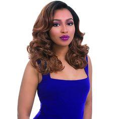Sensationnel Instant Weave Glam Series Half Wig LENA
