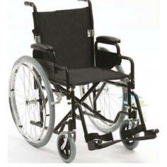 Silla de Ruedas S3 con Respaldo Partido. Silla de Ruedas S3 con respaldo partido, apoyabrazos, ruedas y reposapiés fáciles de desmontar para facilitar su transporte.