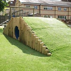 This deluxe tunnel mound combines imaginative play with physical activity; making it a fun and practical addition to your school playground equipment