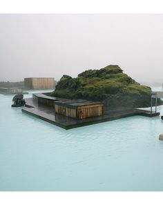 Blue Lagoon/101 Hotel; Reykjavik, Iceland #Travel #Art #Photography #Architecture Sweet Home, Welcome, Anchors, Mansions, Outdoor Decor, House Styles, Iceland, Places, Vacations
