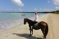 Costa Esmeralda, Miches, Dominican Republic. Horse riding www.stable-mates.com