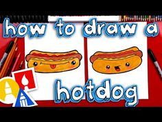 How To Draw Cute Eggs And Bacon - YouTube