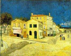 La casa amarilla. Vincent Van Gogh.