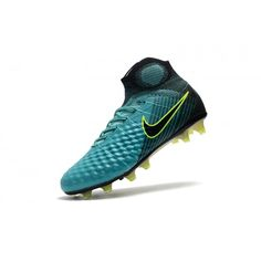 new arrival 8c150 b6469 Buy 2017 Nike Magista Obra II FG Mens Blue Yellow Football Boots Outlet