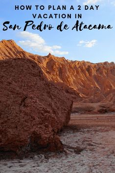 Plan the perfect 2 days in San Pedro de Atacama, Chile! From geysers to salt flats, it will be an unforgettable San Pedro de Atacama itinerary! Backpacking South America, South America Travel, North America, South America Destinations, Travel Destinations, Bolivia, Travel Guides, Travel Tips, Travel Deals
