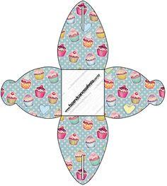 Caixa Cupcakes:
