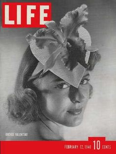 LIFE Orchid Valentine Cover February 1940