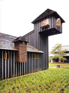 Terunobu Fujimori, Charred Cedar House, 2006-2007