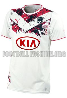 Girodins de Bordeaux 2013/14 PUMA Away Kit