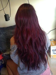 Purple Hair. Vidal Sassoon London lilac box dye