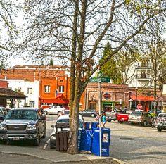 Shops in Old Town Auburn - Photo taken by Sallie Kintigh