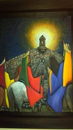 Tres reyes We Three Kings, Kings Day, Christmas Art, Vintage Christmas, Christmas In Puerto Rico, 3 Reyes, Puerto Rico Usa, Nativity Silhouette, Puerto Rico History