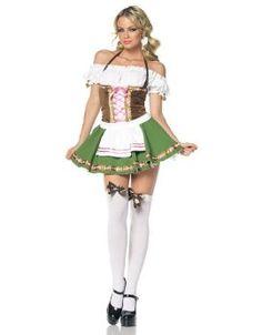 Leg Ave Women's Two-Piece Gretchen Costume