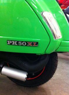 Vespa PK: RAL 6018 Gelbgrün