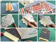 Great method for making an envelope-based mini: try w the envelope punch board!