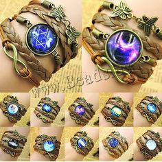 Bracelet combiné, alliage de zinc