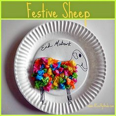 A Crafty Arab: Festive Sheep Tutorial for Eid
