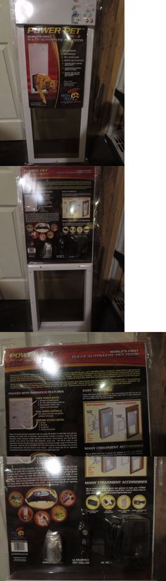 Doors And Flaps 116379: Power Pet Electronic Automatic Motorized Dog Door  High Tech Px1 Medium To 30 Lbs  U003e BUY IT NOW ONLY: $249.95 On EBay!