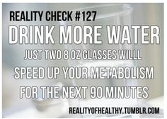 Drink More Water !!!