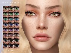 Eyecolors in 28 Colours. Found in TSR Category 'Sims 4 Female Costume Makeup' Sims 4 Mods Clothes, Sims 4 Clothing, The Sims 4 Skin, Sims 4 Anime, Sims 4 Cc Eyes, Sims 4 Expansions, Sims 4 Game Mods, Sims 4 Cc Makeup, Sims 4 Toddler