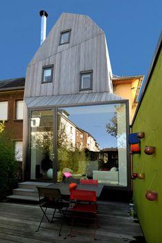Ampliação numa Cidade Jardim / STEINMETZDEMEYER Architectes Urbanistes