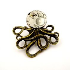 Your place to buy and sell all things handmade Photo Tent, Octopus Jewelry, Stain On Clothes, Steampunk Octopus, Wedding Gifts For Bridesmaids, Vintage Watches, Graduation Gifts, Mother Gifts, Valentine Gifts