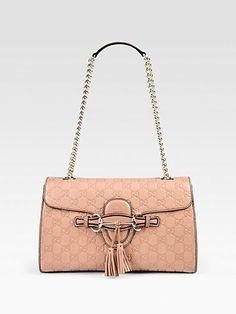 Gucci - Emily Medium Shoulder Bag - Saks.com