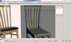 Modelling interior chairs in 3ds Max - Part 1