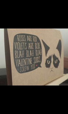 18 Grumpy Cat Valentines for Your Crabby Companion  Grumpy cat
