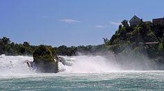 Cascada, Cataratas Del Rhin, Suiza