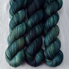 Dusty Emerald - Yummy 3-Ply - Wild Iris